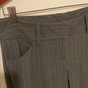 My Michelle gray striped slacks Size 7